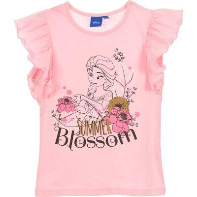 Disney Frozen T-Shirt, Lyserød 6 år - Børnetøj - Disney