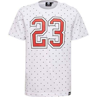 Hummel Koons T-Shirt, White 128 - Børnetøj - Hummel