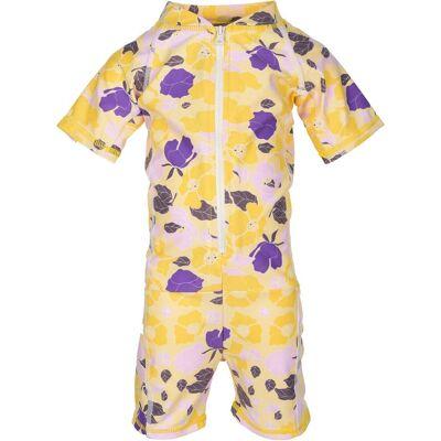 Lindberg Siesta UV-dragt, Yellow 110-116 - Børnetøj - Lindberg