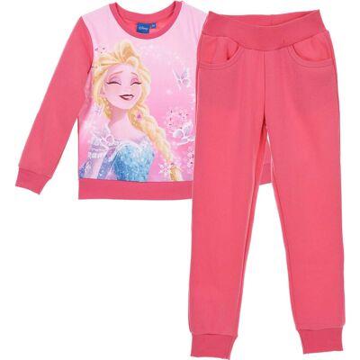 Disney Frozen Joggingsæt, Pink 8 år - Børnetøj - Disney