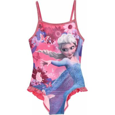 Disney Frozen Badedragt, Lyserød 8 År - Børnetøj - Disney