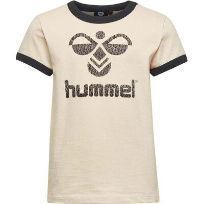 Hummel Kamma T-Shirt, Natur 134 - Børnetøj - Hummel