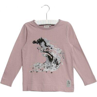 Wheat Frozen Elsa Glitter T-Shirt, Dusty Lavender, 92 - Børnetøj - Wheat