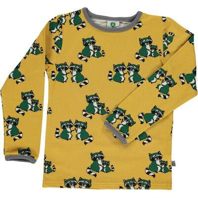 Småfolk T-Shirt, Ochre 4-5 år - Børnetøj - Småfolk