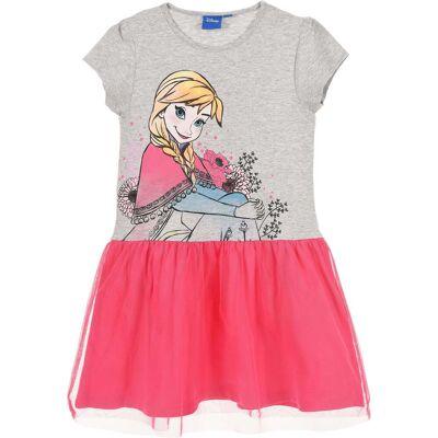 Disney Frozen Kjole, Grå 5 år - Børnetøj - Disney