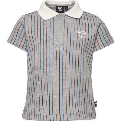 Hummel Zane T-Shirt, Grey Melange 74 - Børnetøj - Hummel