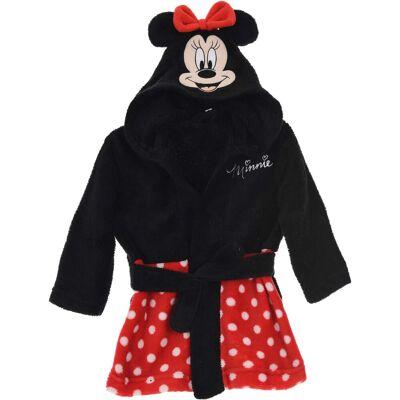 Disney Minnie Mouse Morgenkåbe & Hjemmesko, Red 9-12mån - Børnetøj - Disney