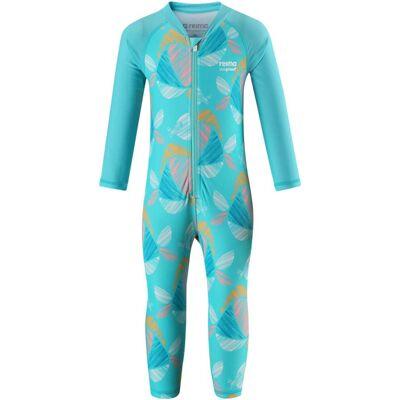 Reima Maracuya UV-Dragt, Bright Turquoise 56 - Børnetøj - Reima