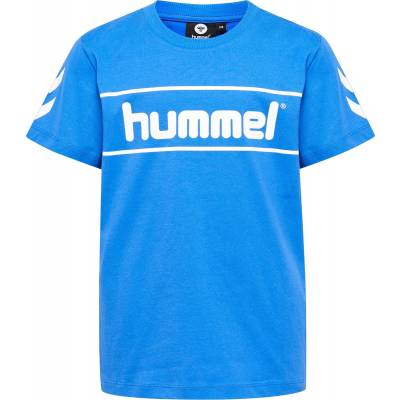 Hummel Jaki T-Shirt, Nebulas Blue 116 - Børnetøj - Hummel