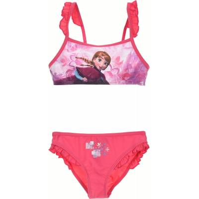 Disney Frozen Bikini, Fuchsia 4 År - Børnetøj - Disney