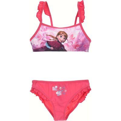 Disney Frozen Bikini, Fuchsia 8 År - Børnetøj - Disney