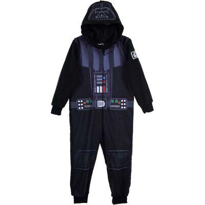 Star Wars Jumpsuit, Sort 10 år - Børnetøj - Star Wars