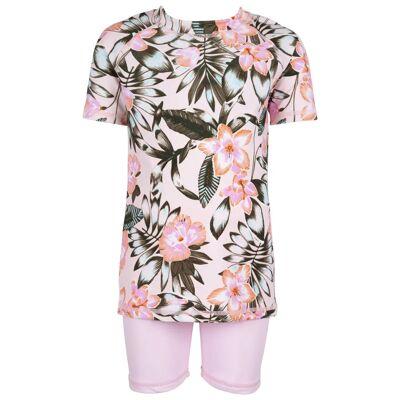 Max Collection Badetøj UV50+, Pale Pink 122-128 - Børnetøj - Max Collection