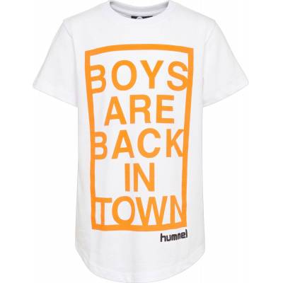 Hummel Bryan T-Shirt, White 122 - Børnetøj - Hummel