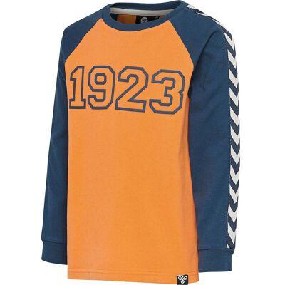 Hummel Lucky T-Shirt, Apricot Buff, 110 - Børnetøj - Hummel