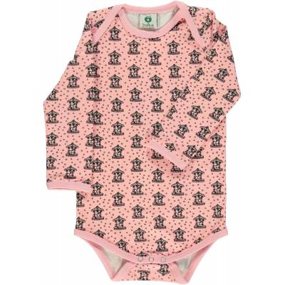 Småfolk Kenzies Carousel Body, Silver Pink 56 - Børnetøj - Småfolk