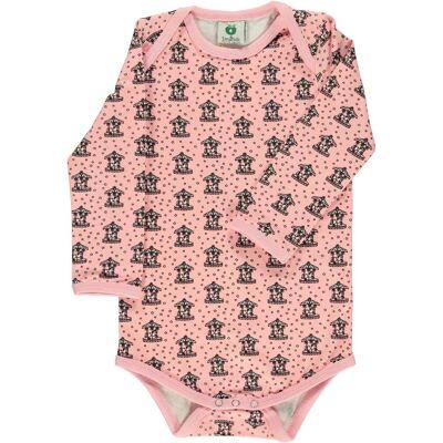 Småfolk Kenzies Carousel Body, Silver Pink 80 - Børnetøj - Småfolk