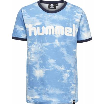 Hummel Bart T-Shirt, Ethereal Blue 110 - Børnetøj - Hummel