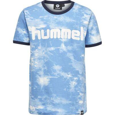 Hummel Bart T-Shirt, Ethereal Blue 122 - Børnetøj - Hummel