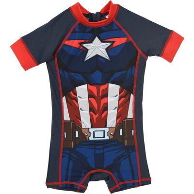 Marvel Avengers UV UV-Dragt, Blå 3 år - Børnetøj - Marvel Avengers