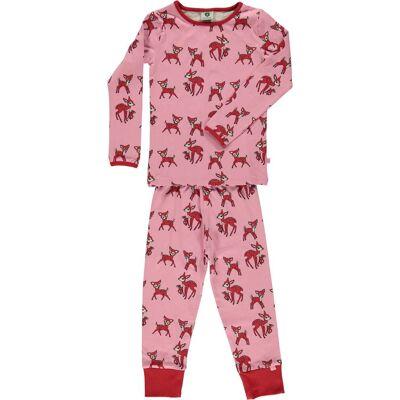 Småfolk Pyjamas, Sea Pink 2-3 år - Børnetøj - Småfolk