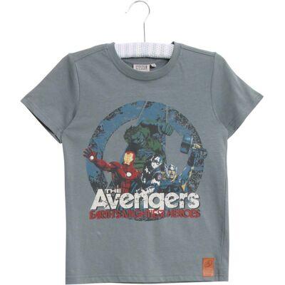 Wheat Disney Avengers T-shirt, Petroleum Blue 98 - Børnetøj - Wheat