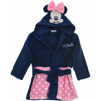 Disney Minnie Mouse Morgenkåbe & Hjemmesko, Pink 9-12mån - Børnetøj - Disney