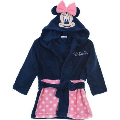 Disney Minnie Mouse Morgenkåbe & Hjemmesko, Pink 18-24 - Børnetøj - Disney