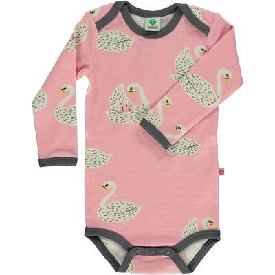 Småfolk Body, Winter Pink 56 cl - Børnetøj - Småfolk