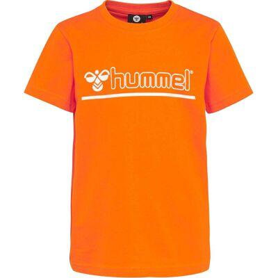 Hummel Cam T-Shirt, Exuberance 134 - Børnetøj - Hummel