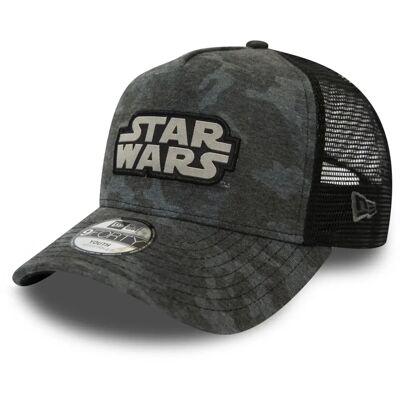 New Era Camo 9FORTY KIDS TRUCKER STAW Kasket, Star Wars Graphite 6-12 år - Børnetøj - New Era