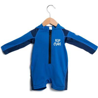 Rip Curl Kids Hooded L/S UV-Dragt Spring, Blue 105 - Børnetøj - Rip Curl