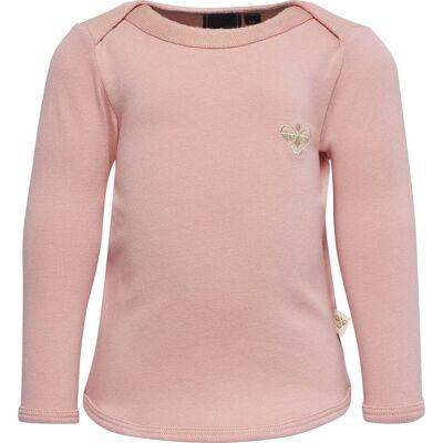 Hummel Tessa T-Shirt, Mellow Rose 68 - Børnetøj - Hummel