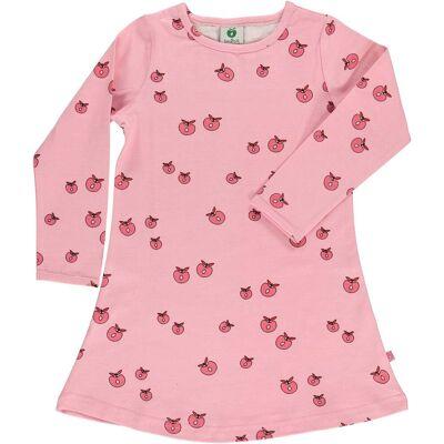 Småfolk Kjole Æble, Sea Pink 3-4år - Børnetøj - Småfolk
