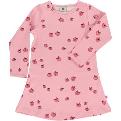 Småfolk Kjole Æble, Sea Pink 4-5år - Børnetøj - Småfolk