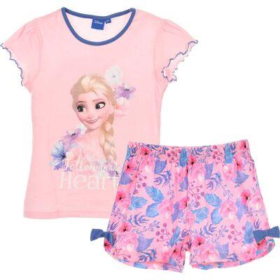 Disney Frozen Nattøj, Lyserød 8 år - Børnetøj - Disney