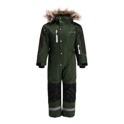Nordbjørn Arctic Flyverdragt, Kombu Green 90 - Børnetøj - Nordbjørn