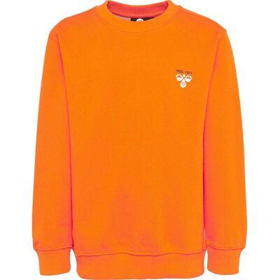 Hummel Howie Sweatshirt, Exuberance 122 - Børnetøj - Hummel