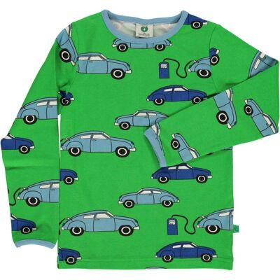 Småfolk Tanka Trøje, Green 5-6år - Børnetøj - Småfolk