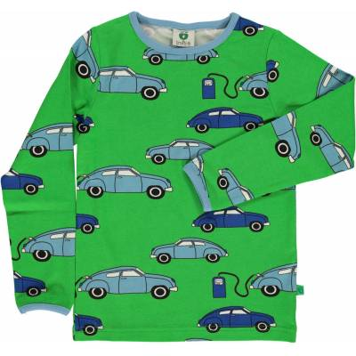 Småfolk Tanka Trøje, Green 1-2år - Børnetøj - Småfolk