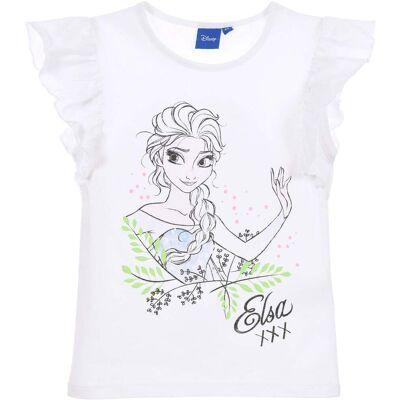 Disney Frozen T-Shirt, Hvid 4 år - Børnetøj - Disney