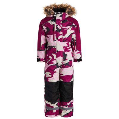 Nordbjørn Arctic Flyverdragt, Pink Camo 100 - Børnetøj - Nordbjørn
