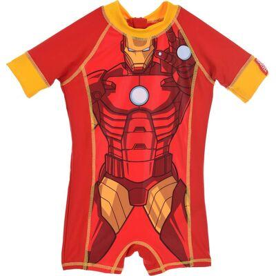 Marvel Avengers UV-dragt, Rød 2 år - Børnetøj - Marvel Avengers