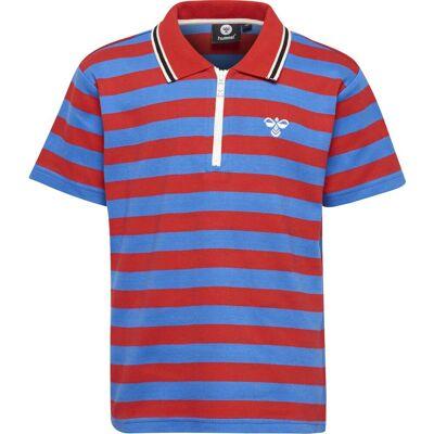 Hummel Red T-Shirt, Flame Scarlet 140 - Børnetøj - Hummel