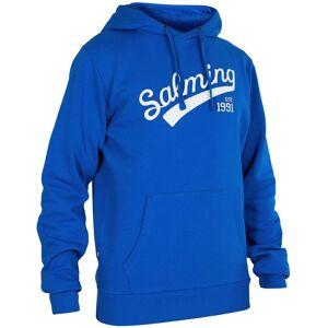 Salming Logo Hood JR Hættetrøje, Royal Blue 128