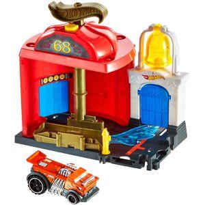 Hot Wheels City Downtown Legesæt Fire Station Spinout