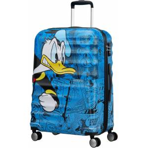 American Tourister Disney Anders And Kuffert Blå, 64L