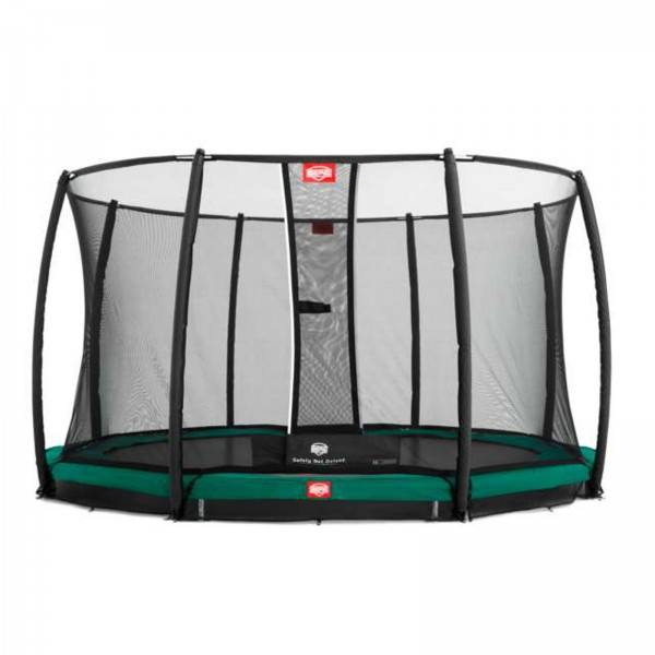 Berg trampolin InGround Favorit inkl. sikkerhedsnet Deluxe 380 cm