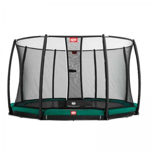 Berg trampolin InGround Favorit inkl. sikkerhedsnet Deluxe 430 cm