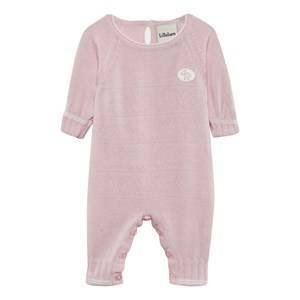 Lillelam Heart One-Piece Pink 68 cm (4-6 mdr)